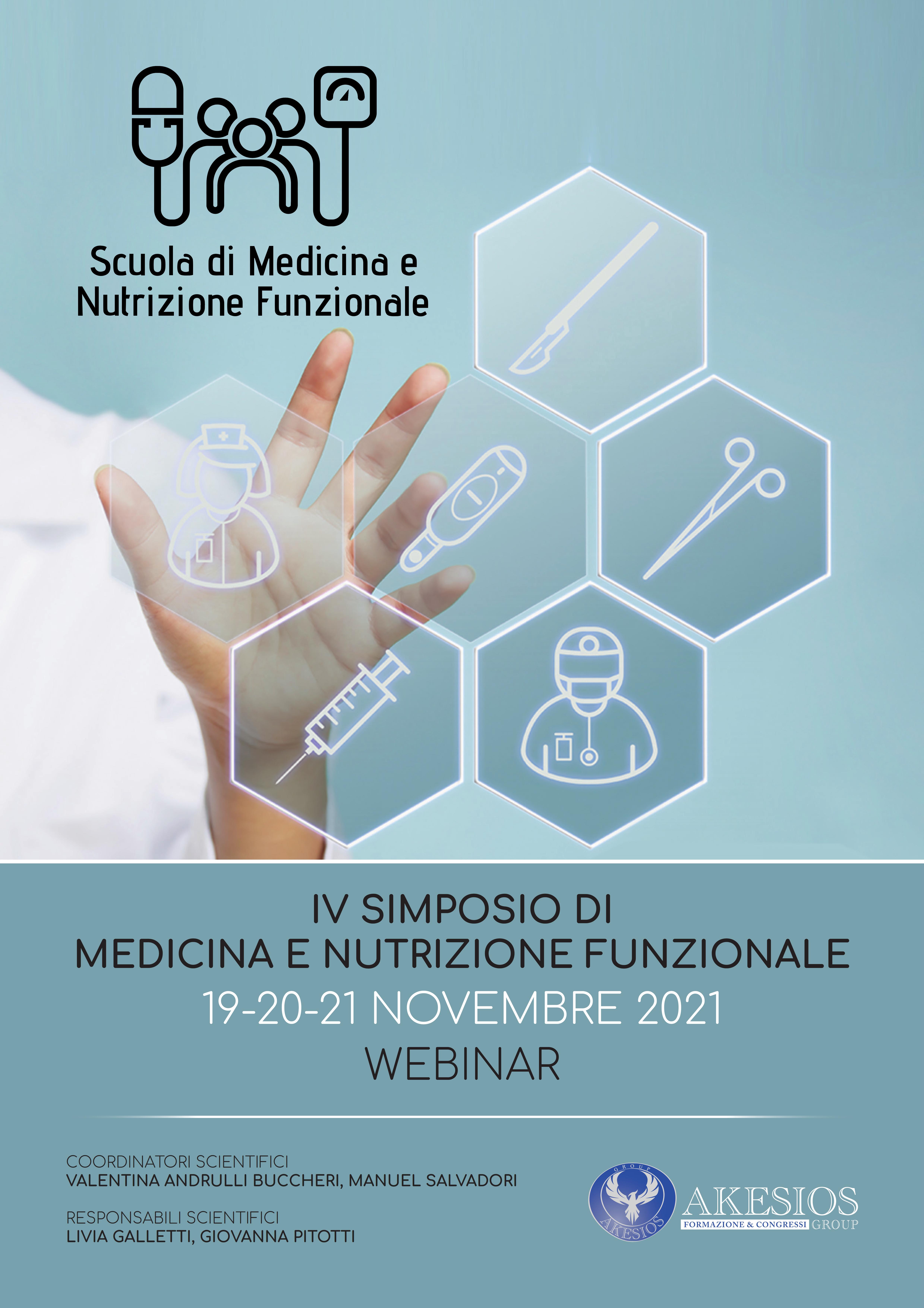 IV SIMPOSIO DI MEDICINA E NUTRIZIONE FUNZIONALE