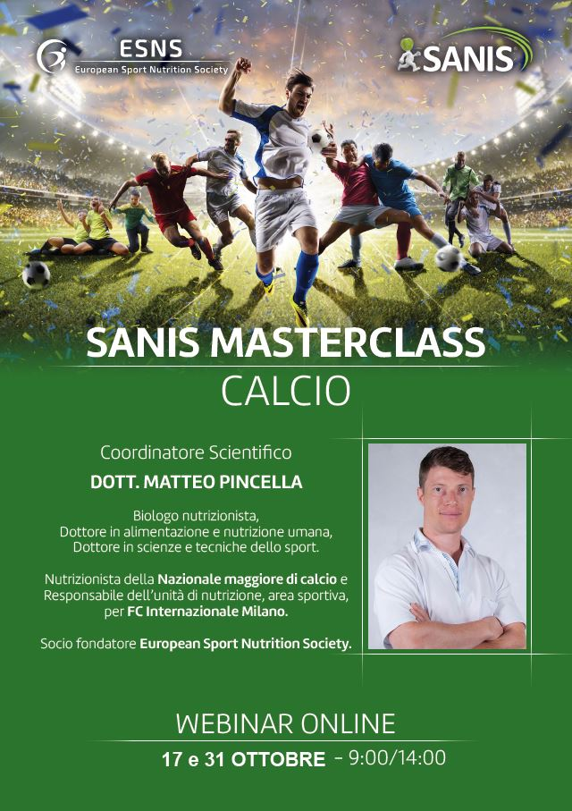 SANIS MASTERCLASS – CALCIO