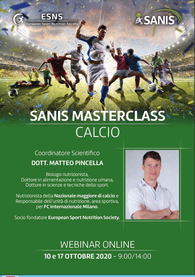 SANIS MASTECLASS – CALCIO