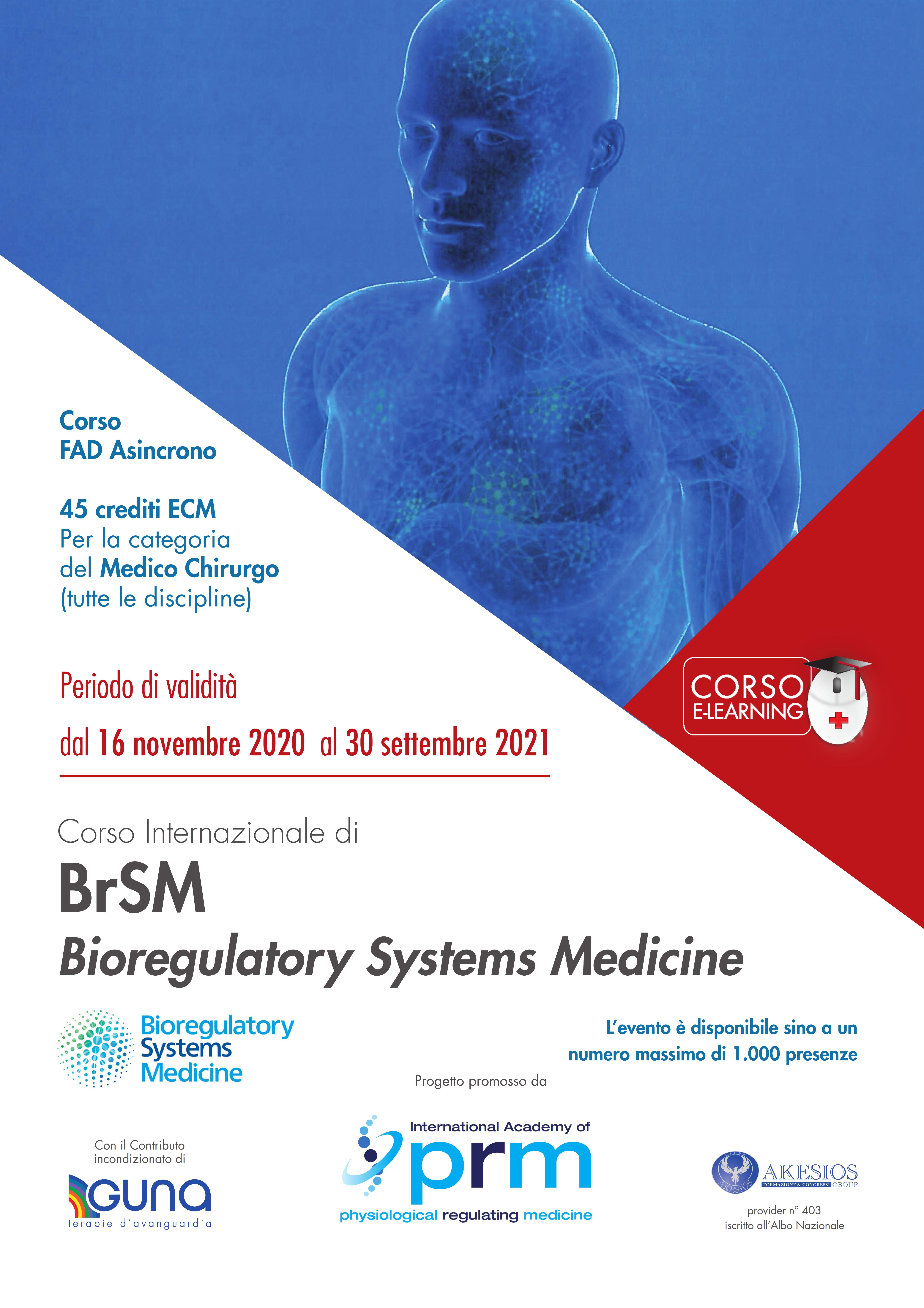 Corso Internazionale di BrSM Bioregulatory Systems Medicine