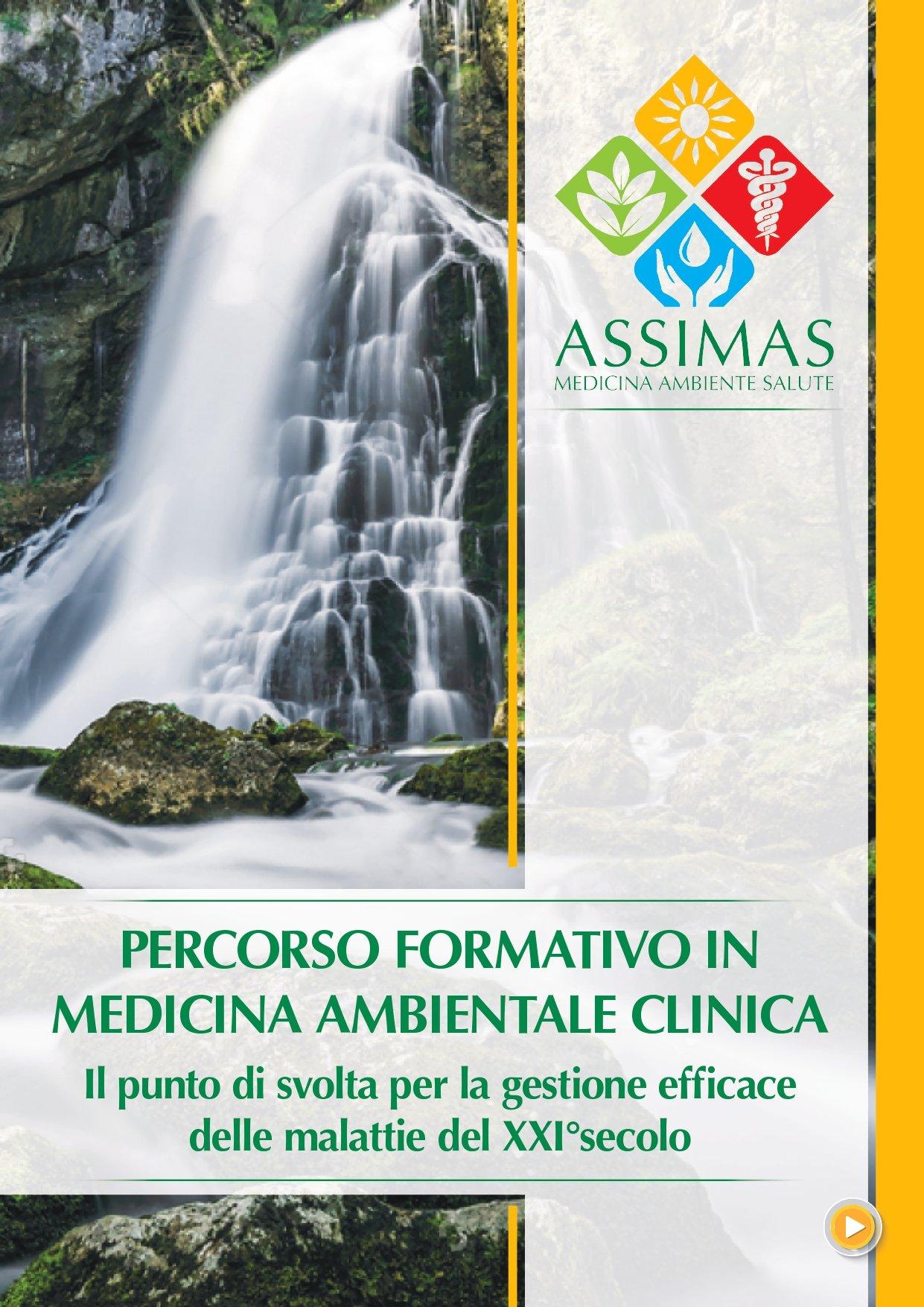 PERCORSO FORMATIVO IN MEDICINA AMBIENTALE CLINICA